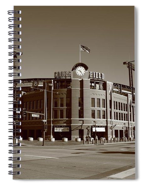 Coors Field - Colorado Rockies Spiral Notebook
