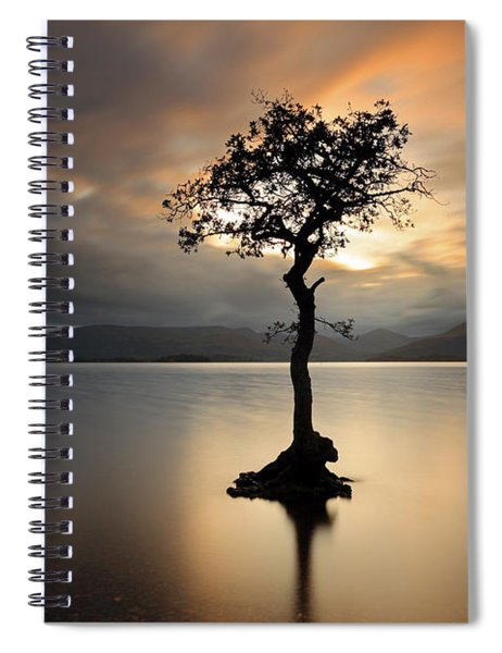 Loch Lomond Sunset Spiral Notebook