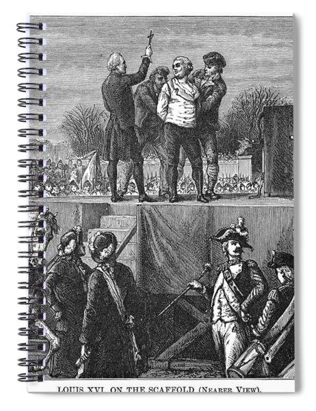 Louis Xvi Execution, 1793 Spiral Notebook
