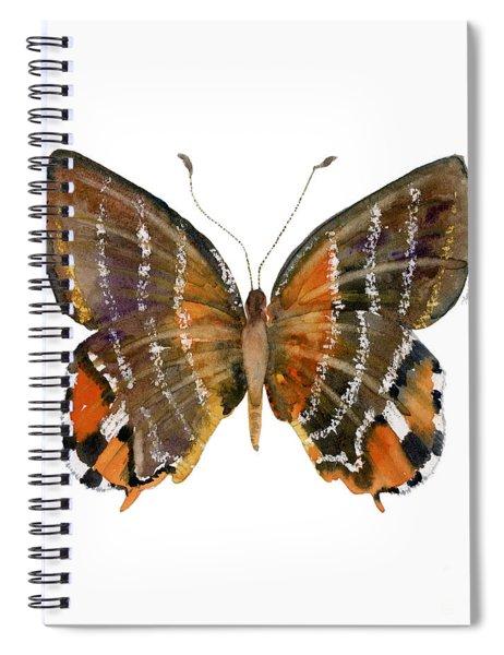 60 Euselasia Butterfly Spiral Notebook