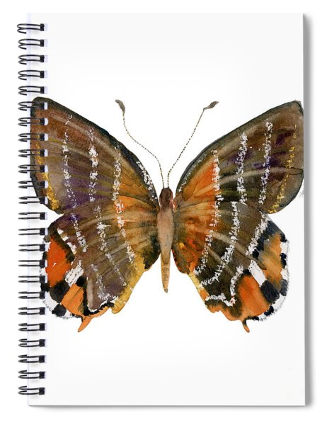 60 Euselasia Butterfly Spiral Notebook