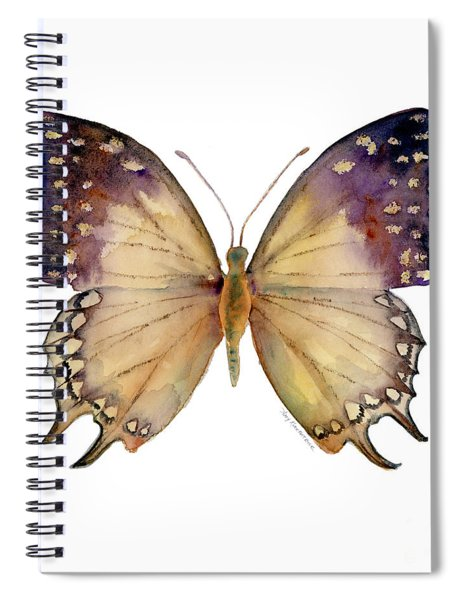 63 Great Nawab Butterfly Spiral Notebook