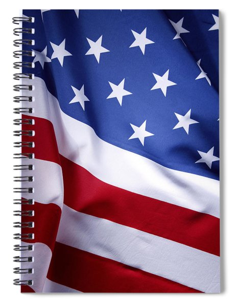 American Flag 50 Spiral Notebook