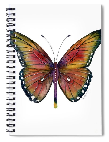 66 Spotted Wing Butterfly Spiral Notebook