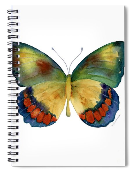 67 Bagoe Butterfly Spiral Notebook