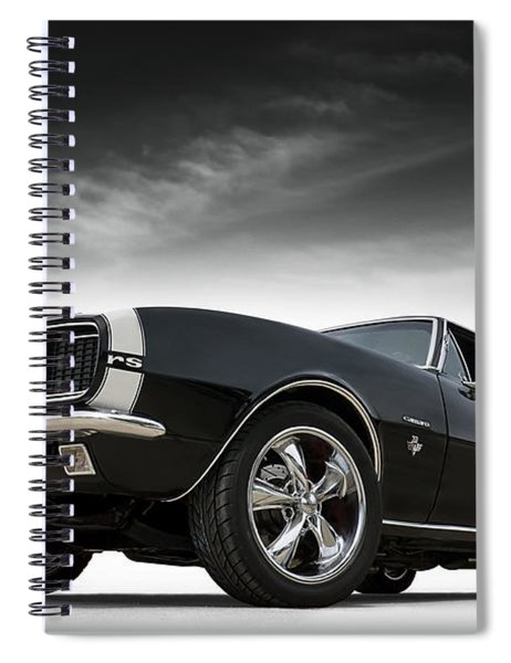 '67 Camaro Rs Spiral Notebook