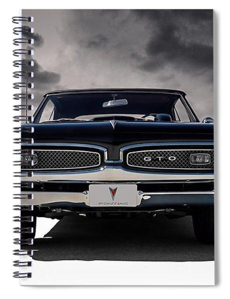 '67 Gto Spiral Notebook