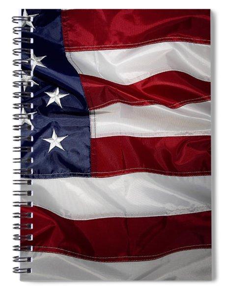 American Flag 52 Spiral Notebook