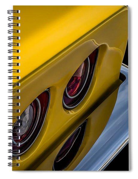 '69 Corvette Tail Lights Spiral Notebook