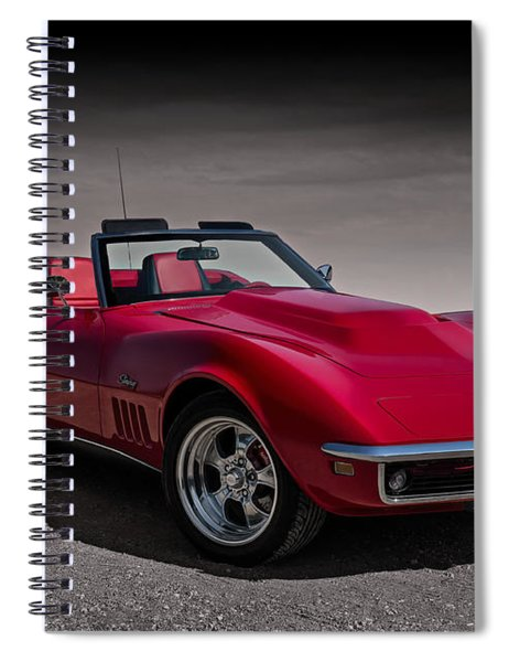 69 Red Stingray Spiral Notebook
