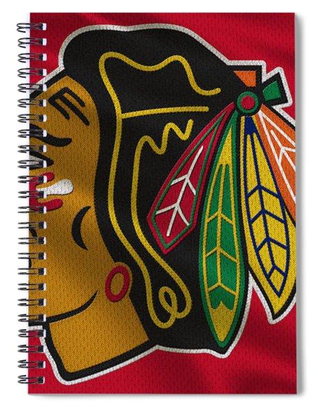 Chicago Blackhawks Uniform Spiral Notebook