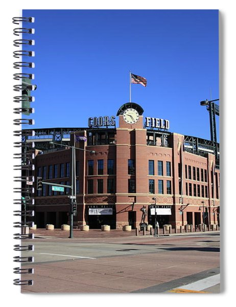 Coors Field - Colorado Rockies Spiral Notebook