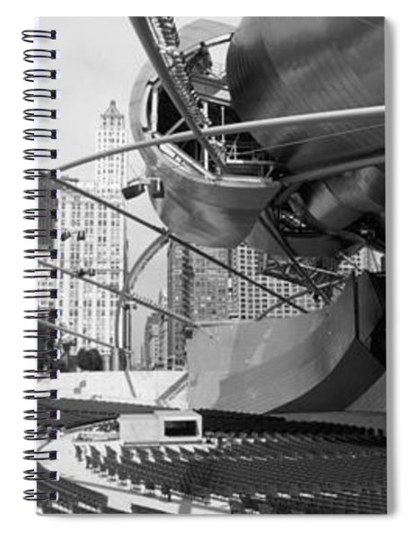 Low Angle View Of Buildings In A City Spiral Notebook