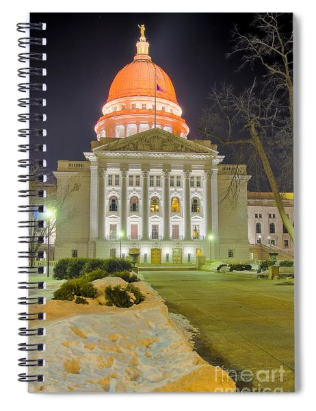 Madison Capitol Spiral Notebook