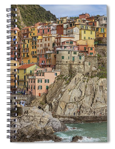 Manarola Spiral Notebook