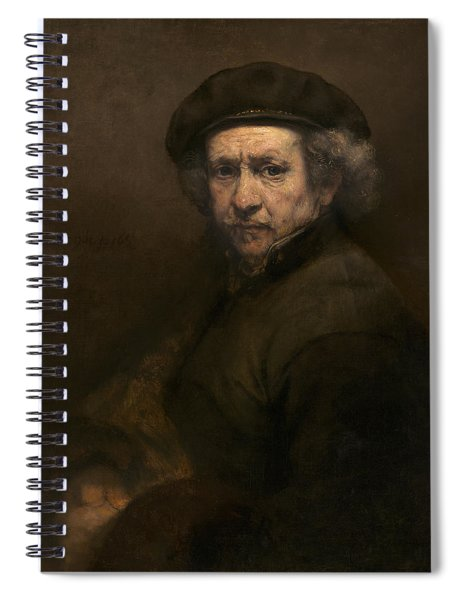 Self Portrait Spiral Notebook