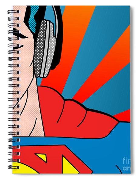 Superman  Spiral Notebook