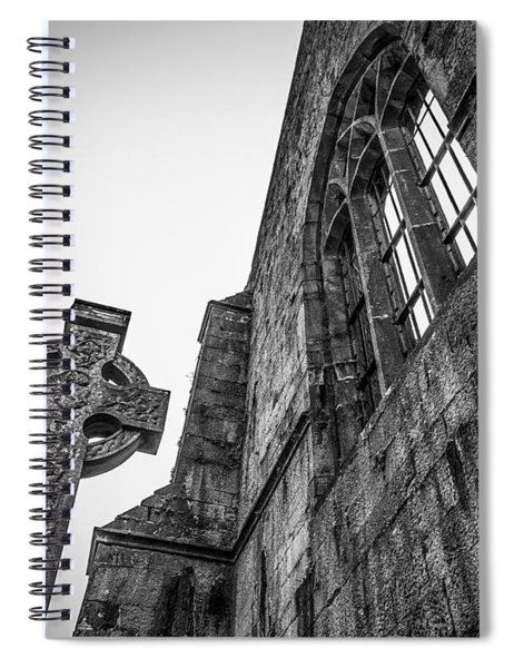 700 Years Of Irish History At Quin Abbey Spiral Notebook