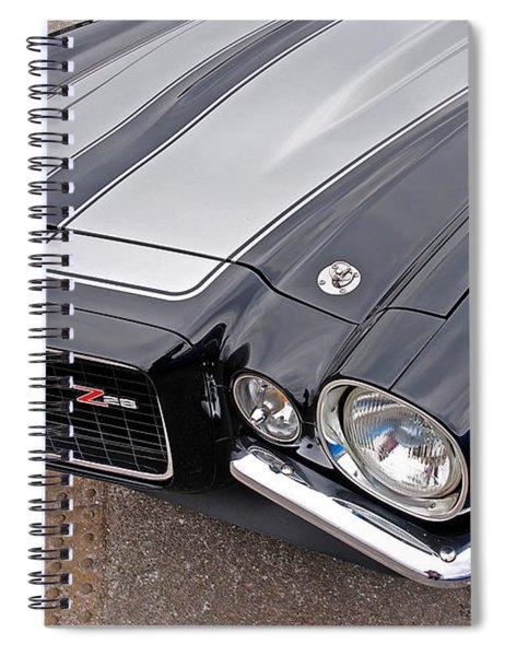 71 Camaro Z28 Spiral Notebook