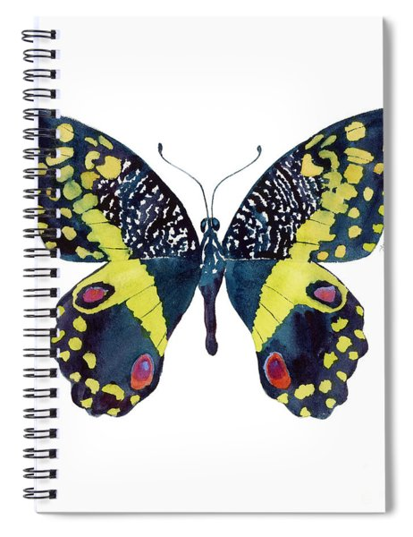 73 Citrus Butterfly Spiral Notebook