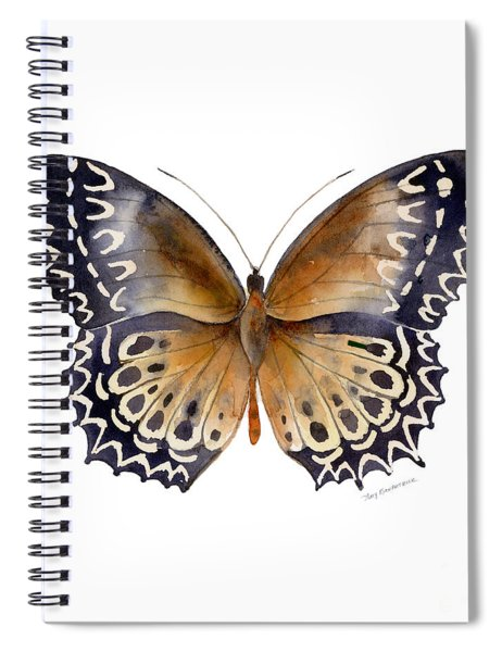 77 Cethosia Butterfly Spiral Notebook