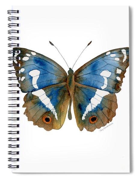 78 Apatura Iris Butterfly Spiral Notebook