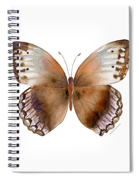 79 Jungle Queen Butterfly Spiral Notebook