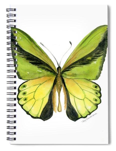 8 Goliath Birdwing Butterfly Spiral Notebook