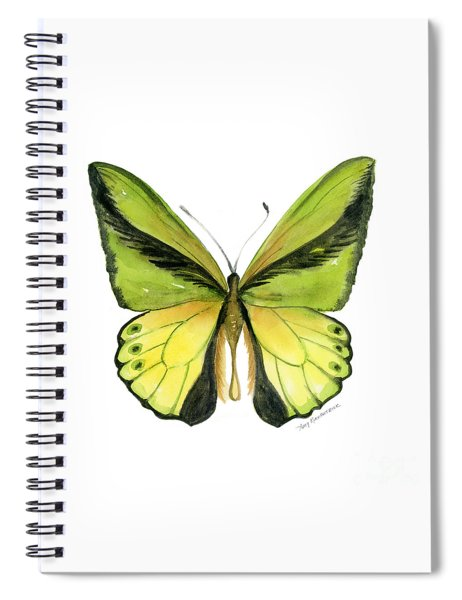 8 Goliath Birdwing Butterfly Spiral Notebook