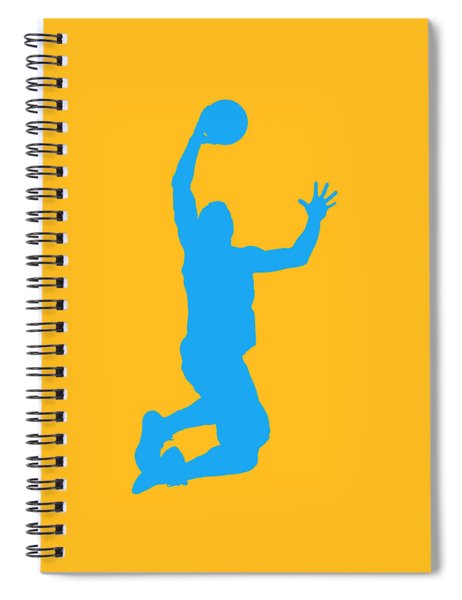 Nba Shadow Players Spiral Notebook