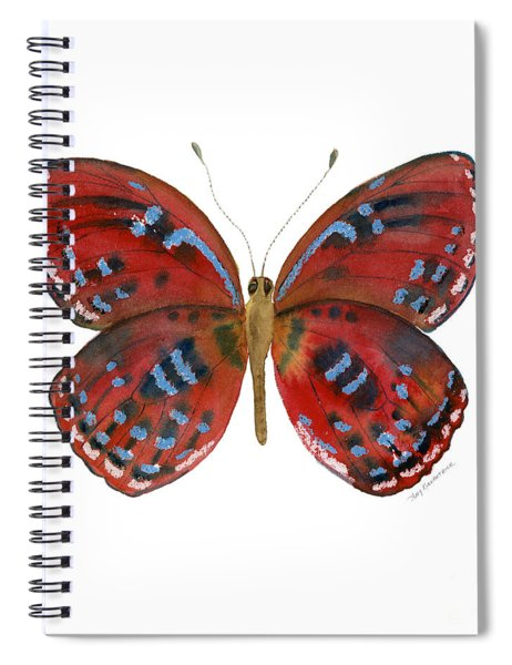 81 Paralaxita Butterfly Spiral Notebook