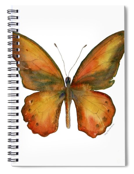 85 Lydius Butterfly Spiral Notebook