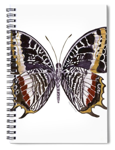 88 Castor Butterfly Spiral Notebook