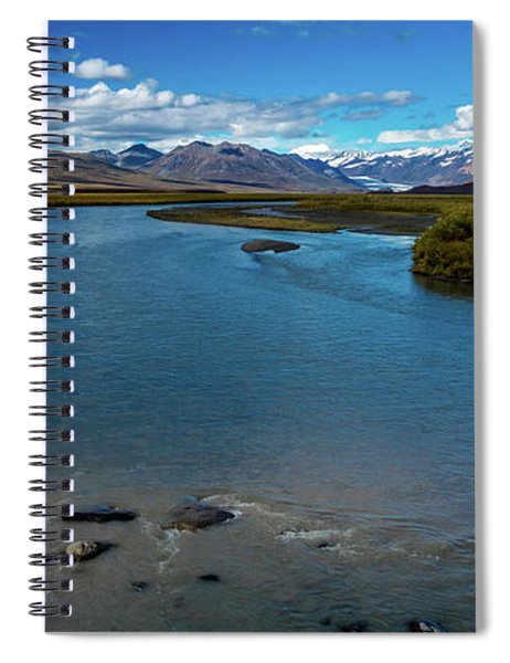 Denali Highway, Route 8, Offers Views Spiral Notebook