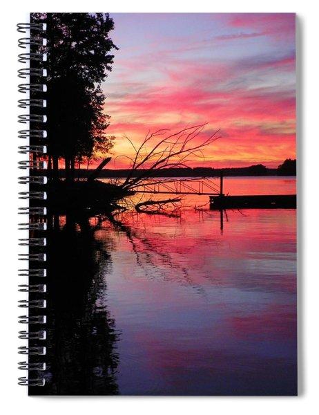 Sunset 9 Spiral Notebook