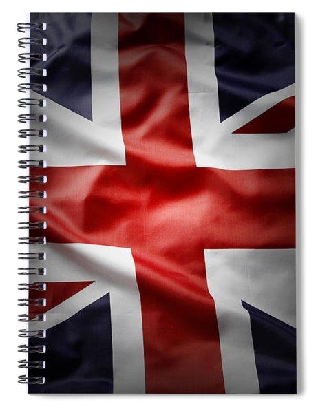 Union Jack  Spiral Notebook