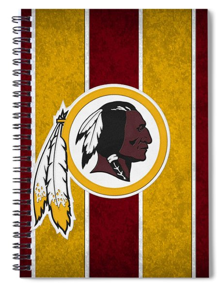 Washington Redskins Spiral Notebook