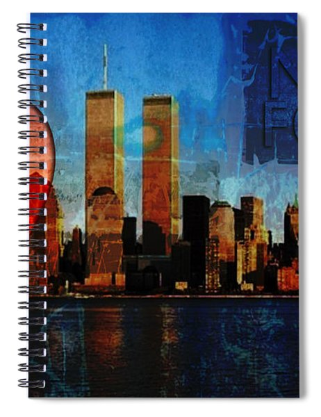 911 Never Forget Spiral Notebook