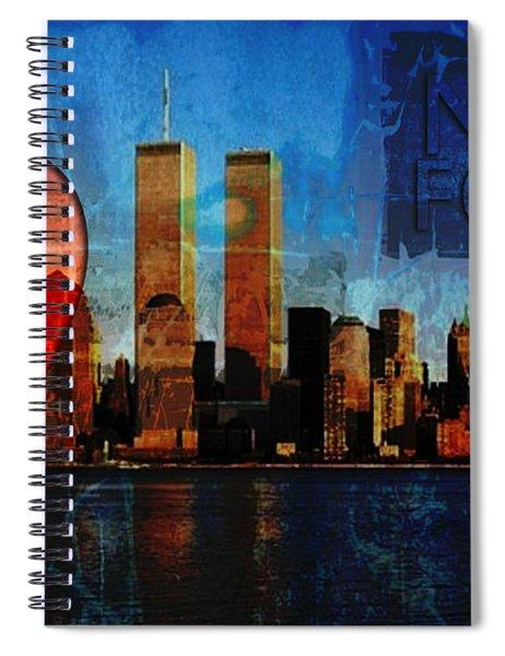 911 Never Forget Spiral Notebook