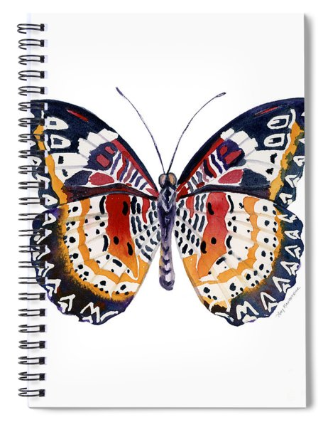 94 Lacewing Butterfly Spiral Notebook