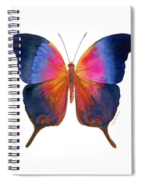 96 Brushfoot Butterfly Spiral Notebook by Amy Kirkpatrick