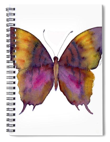 99 Marcella Daggerwing Butterfly Spiral Notebook