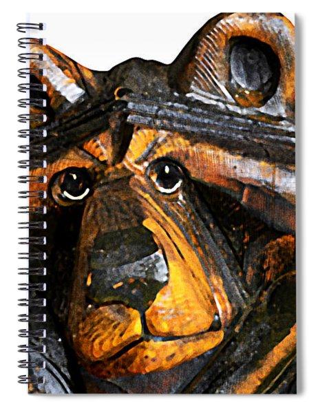 A Bear Expression Spiral Notebook