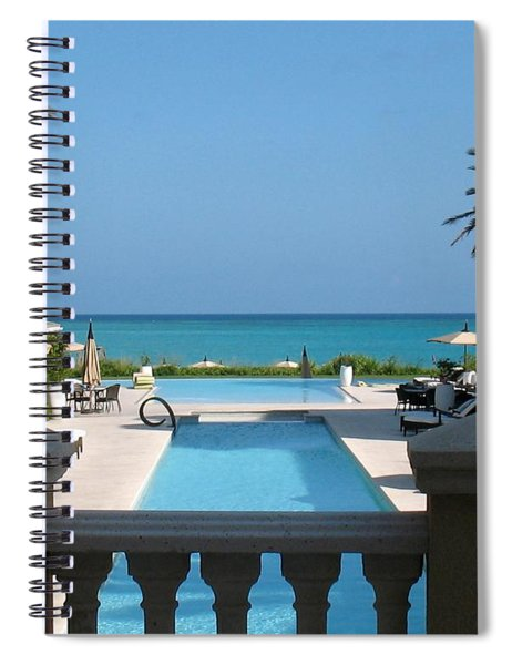 Spiral Notebook featuring the photograph A Beautiful View by Patti Whitten