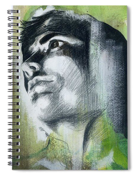 A Boy Named Persistence Spiral Notebook