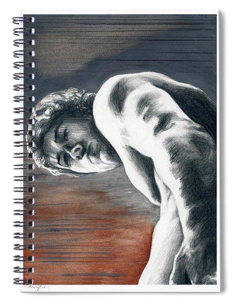A Boy Named Sideways Spiral Notebook