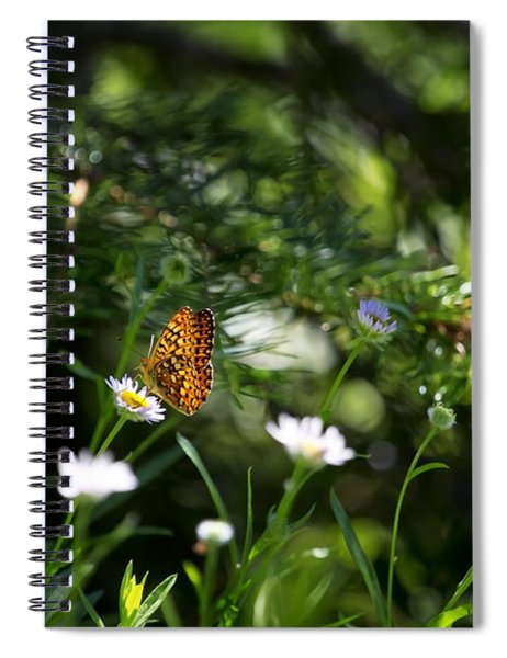 A Butterfly's World Spiral Notebook by Belinda Greb