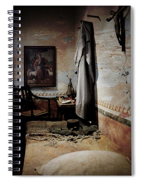 A Cell In Santa Barbara Mission Spiral Notebook