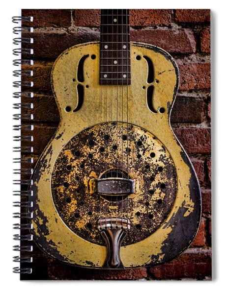 A Classic Spiral Notebook
