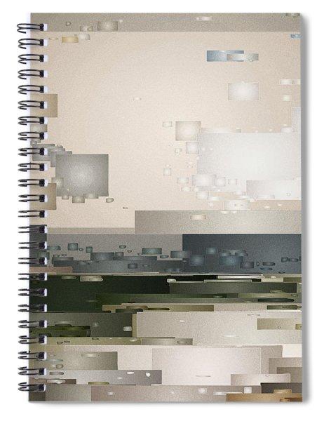 A Cloudy Day Spiral Notebook
